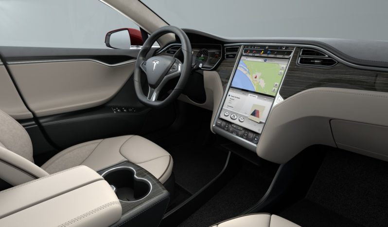 (Vendido) Tesla Model S P85+ PPSR Obeche Wood Gloss Décor Interior 1